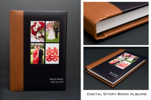 Story Book Wedding Album